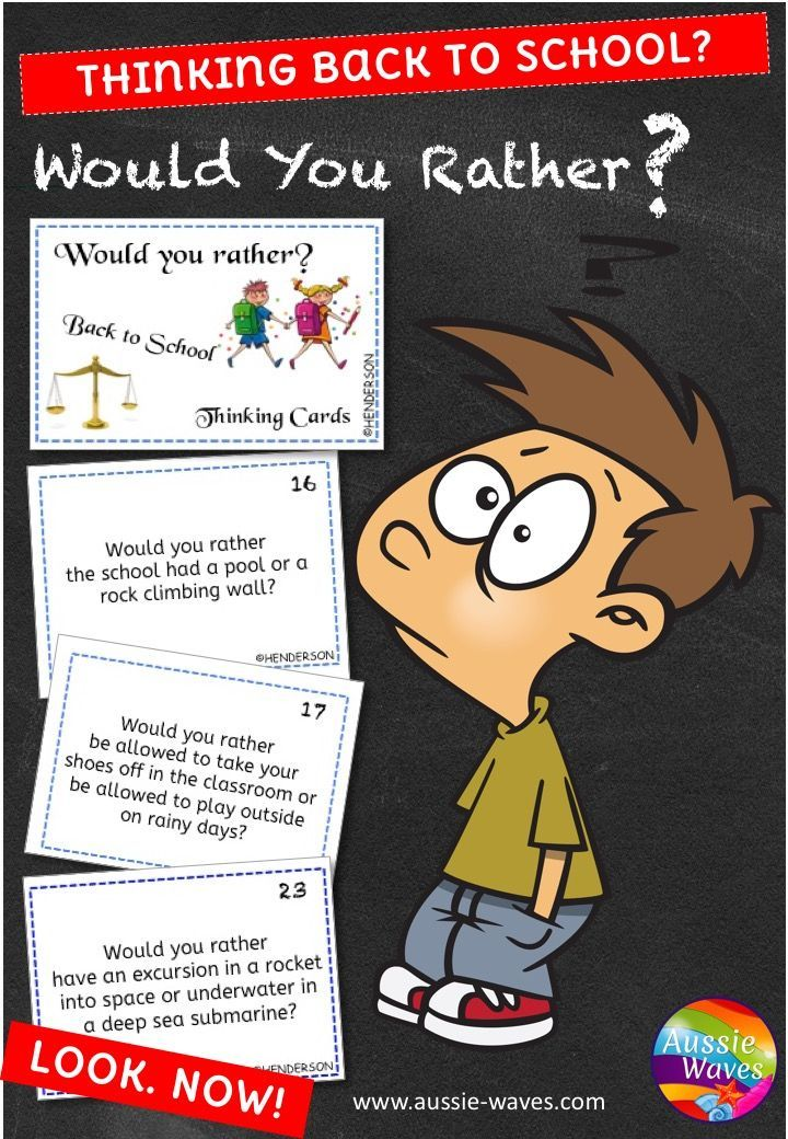 A FUN activity for back to school. It is a good idea for teachers, at the beginning of the new year, to let students know that they expect thinking!