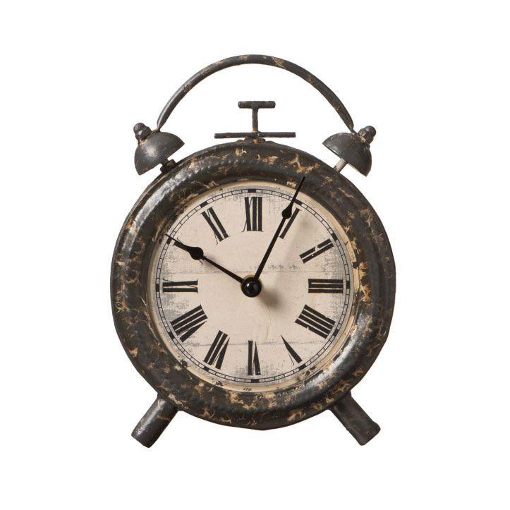 Patina Desk Clock | Dotandbo.com #DotandBoSummer Gotta HAVE It!