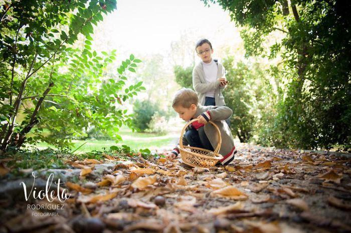 Fotografía de niños y familias, fotógrafa Violeta Rodriguez