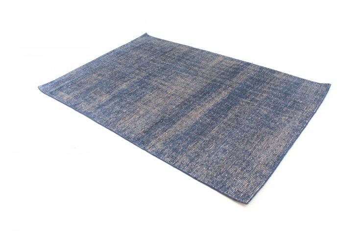 Bamboo silk-teppe - Faliraki (blå) - Trendcarpet.no