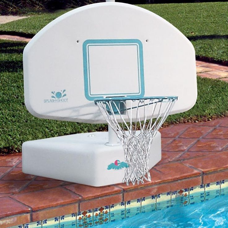 74 best images about water basketball on pinterest - Basketball goal for swimming pool ...