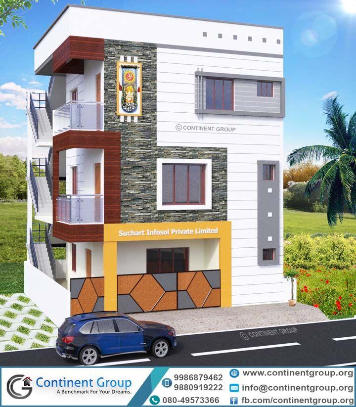 3d Building Elevation 3d Front Elevation G 2 Bangalore Small House Design Plans Small House Elevation Design Duplex House Design