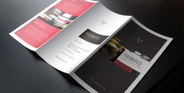 Templates de folletos dípticos y trípticos en PSD, Illustrator y Corel | Puerto Pixel | Recursos de Diseño
