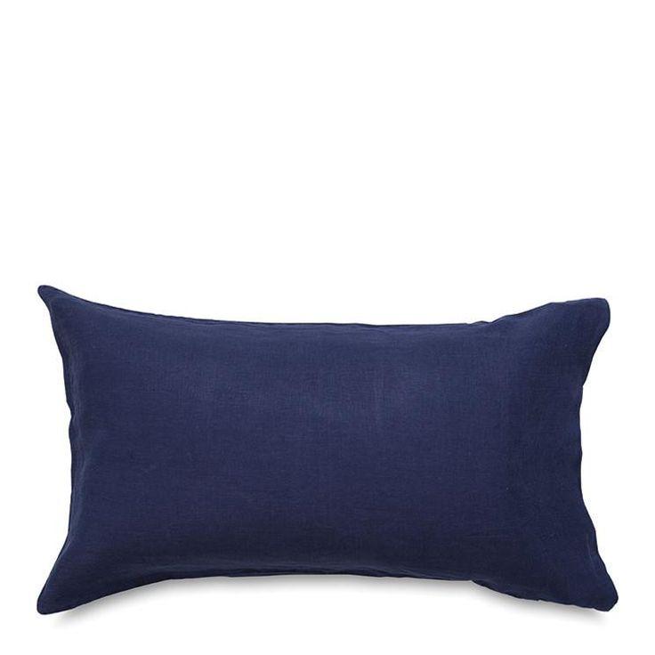 Sove Ink Linen Lodge Pillowcase Pair #worthynzhomeware wwworthy.co.nz