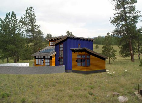Off The Grid Park County Colorado Mountain Home Thats Totally Self Sufficient