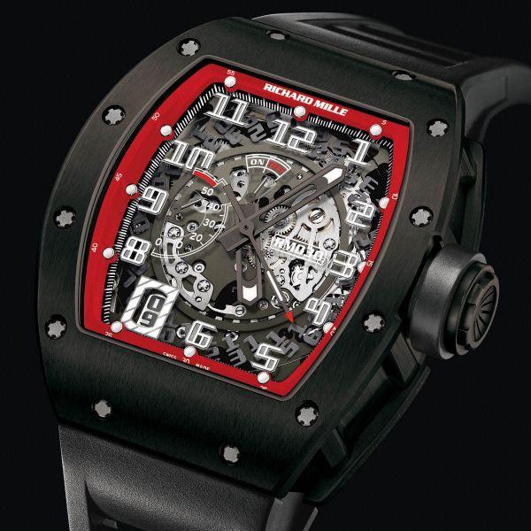 La Cote des Montres : Prix du neuf et tarif de la montre Richard Mille - RM 030 - Ti DLC Black Night 530.45D.91C