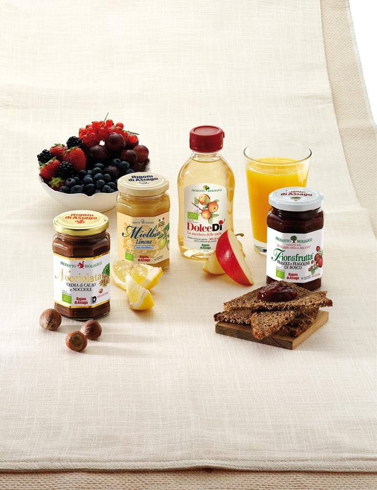 Fiordifrutta, Mielbio, DolceDì e Nocciolata, i nostri prodotti deliziosi e biologici :-)