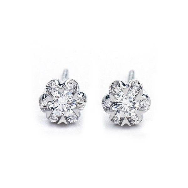 One Carat Diamond Earrings Go To Stellarpieces For Even More Stunning Jewelry Pinterest And
