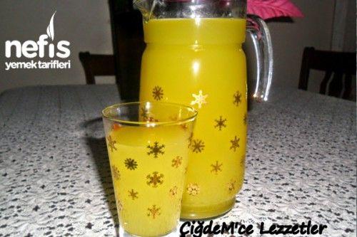 1 Portakal 1 Limon İle 3 Litre Limonata Yapalım - Nefis Yemek Tarifleri