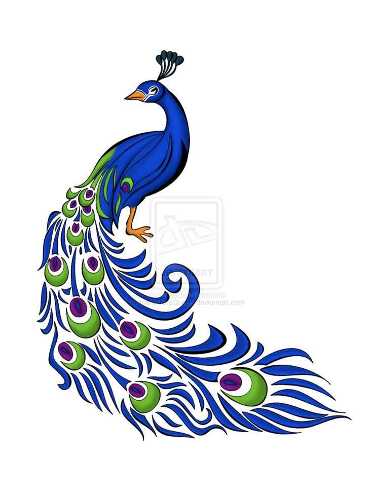 Peacock Motif by *IrishPirateQueen on deviantART