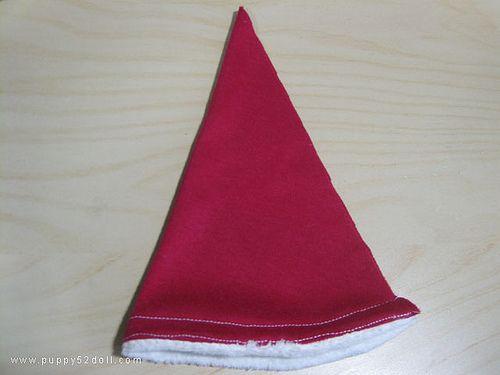 Tutorial: Santa's Hat pattern – Printer Free Version!