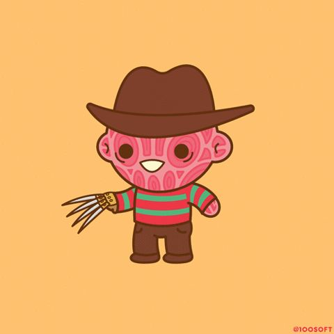 New trendy GIF/ Giphy. freddy krueger nightmare on elm street. Let like/ repin/ follow @cutephonecases