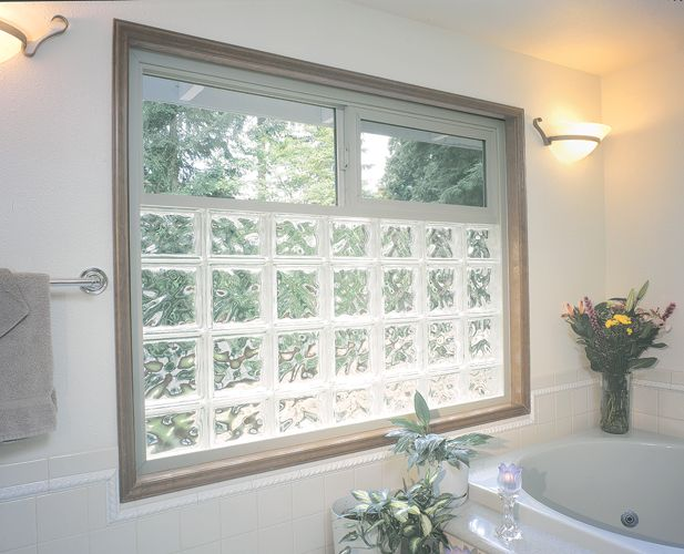 Add Privacy To Your St. Louis Home With Glass Block Bathroom Windows From  Masonry U0026 Glass Systems. Add Privacy With The Natural Light Into Your  Bathroom