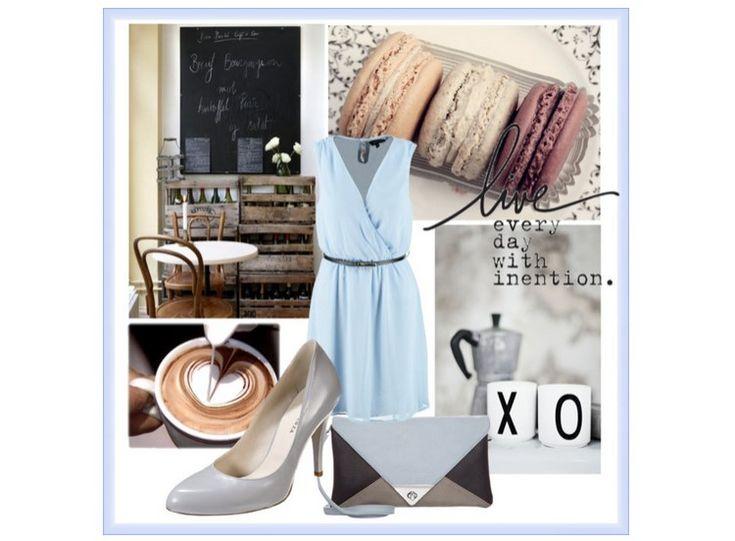 Moda wiosna 2015 - pastele nadal na topie. Obok koloru miętowego i pudrowego różu popularne są również pastelowe odcienie niebieskiego.