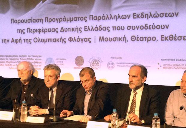 Ανοικτή πρόσκληση σε όλους τους Έλληνες να έλθουν στην Αρχαία Ολυμπία για να παρακολουθήσουν από κοντά ένα παγκόσμιο γεγονός, την Τελετή Αφής της Ολυμπιακής Φλόγας, απηύθηνε ο Περιφερειάρχης Δυτικής Ελλάδας Απόστολος Κατσιφάρας στη διάρκεια της συνέντευξης Τύπου που παραχωρήθηκε τη Πέμπτη 14, Απριλίου, με την παρουσία του Υφυπουργού Αθλητισμού Σταύρου Κοντονή, στο Ίδρυμα Μιχάλης Κακογιάννης …