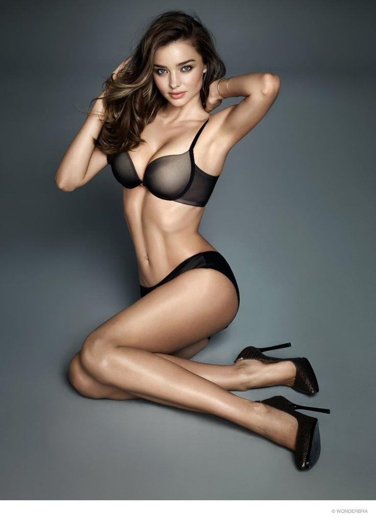 Miranda Kerr Flaunts Figure in New Wonderbra Photos