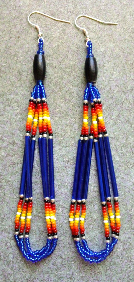 LOVE!! Native American Sapphire/Buffalo Horn by prettyuniquedesigns2,