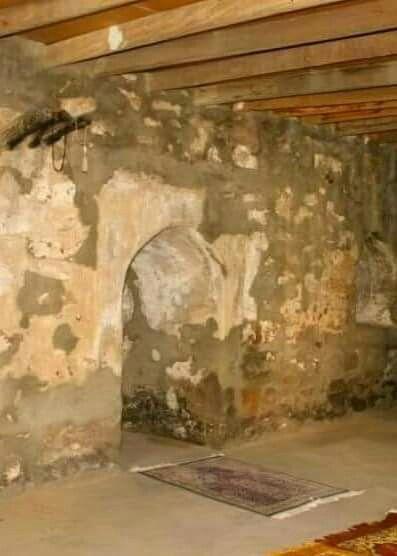 Prophet Muhammad  ( sal  ) prayed  here in Taif