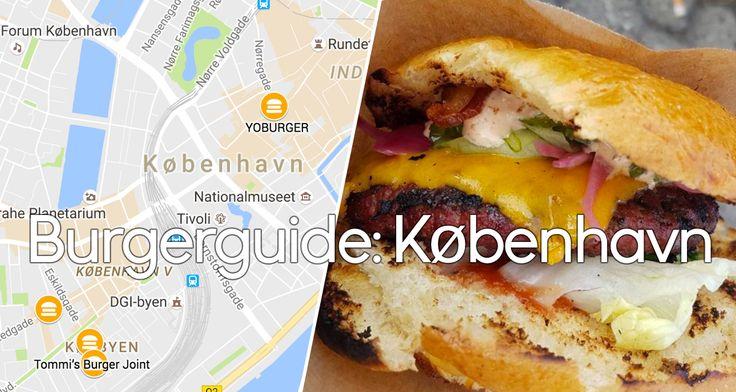 Anmeldelse af de bedste, nye burgerjoints i København