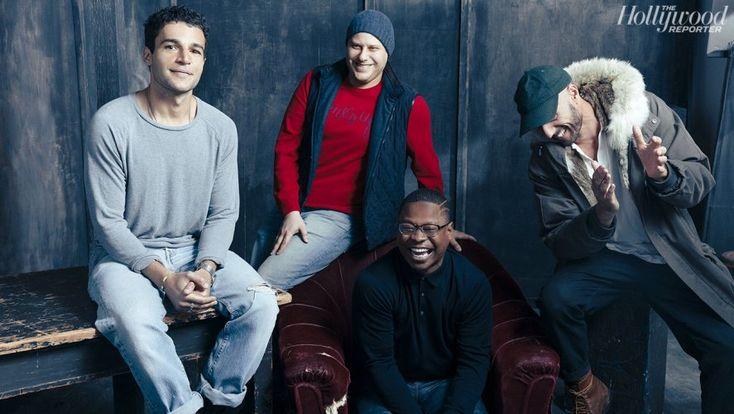 'Tyrel' From left: Christopher Abbott, Max Born, Jason Mitchell and Sebastian Silva