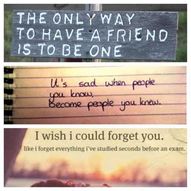 Quotes About Lost Friendships: Losing A Friend Is Horrible:( It's Happened To Me Twice