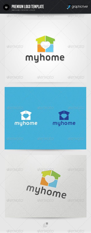 11 best logos bienes raices images on pinterest logo templates my home logo