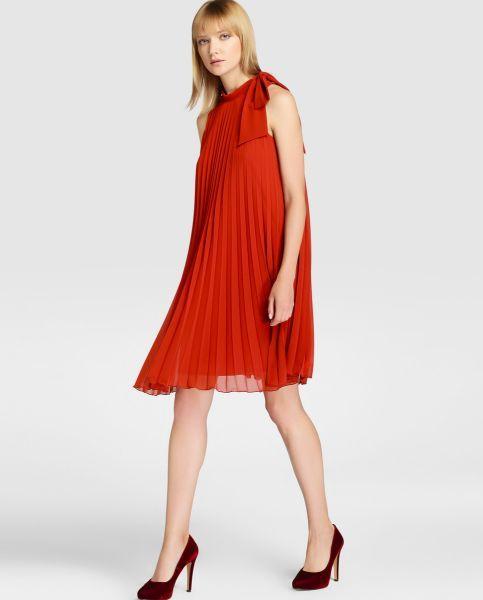 Vestidos de fiesta rojo corto.