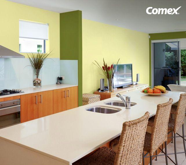Un poco de naranja en tu cocina o comedor estimular el for Colores para cocina comedor