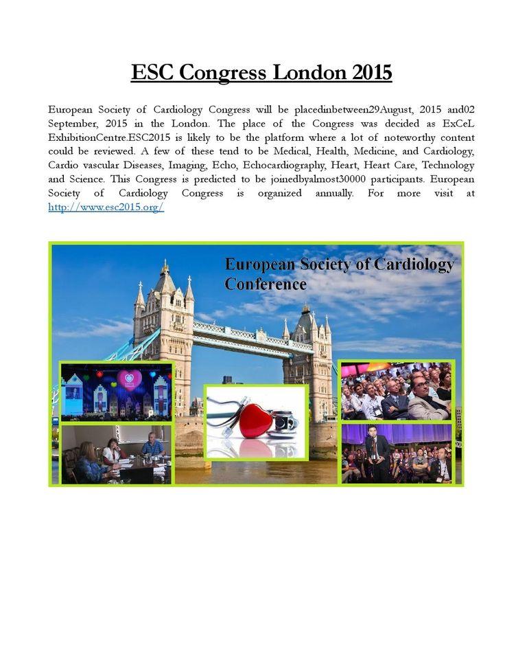 Esc Congress London 2015