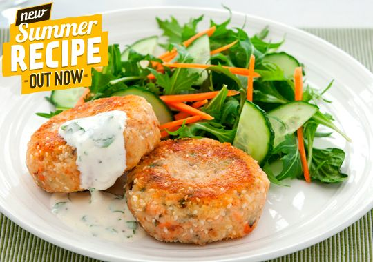 Homemade fish cakes are a tasty way to put more omega-3 in your diet. And it's one even the kids will love!