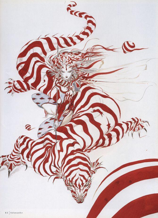 Yoshitaka Amano (Japanese, b.1952)