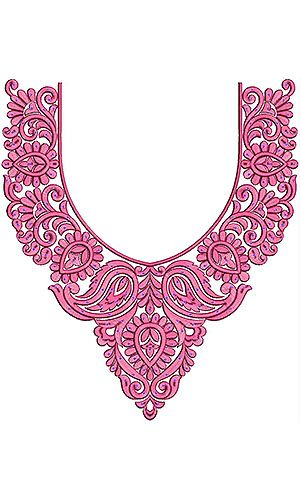 Estonian Fashion Clothing Embroidery Design