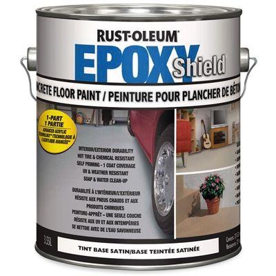 Rust-Oleum 3.78L 1-Part Tint Base Satin High-Gloss Epoxy Garage Floor Epoxy