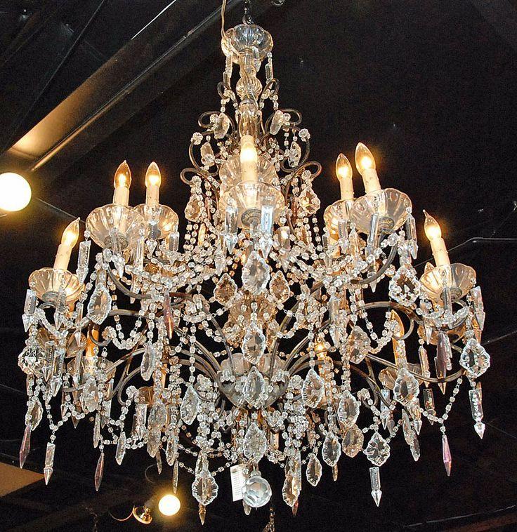 304 best i love lighting images on pinterest chandelier antique chandeliers aloadofball Images