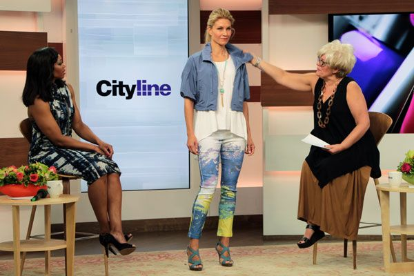 Look #2: Starry Nights solstice cropped jacket, $129 Grand Prix white mixed media swing back tank, $79 Starry Nights sunset print ankle pants, $119 http://www.cityline.ca/…/cityline-lookbook-hot-spring-look…/ #Cityline #FashionFriday #SPANNER #Canadian #Fashion #LynnSpence #TracyMoore