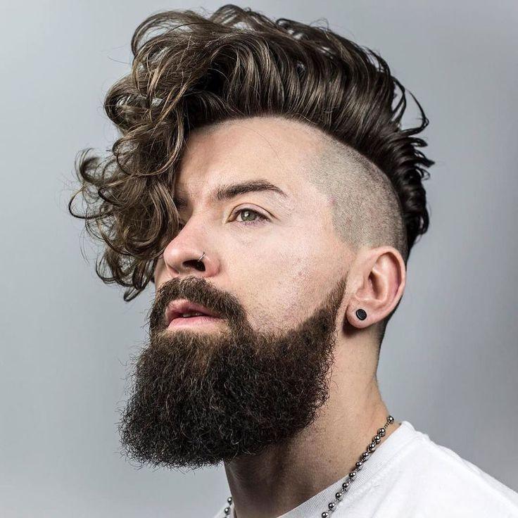 braidbarbers_and corte de pelo largo y rizado para los hombres socavó