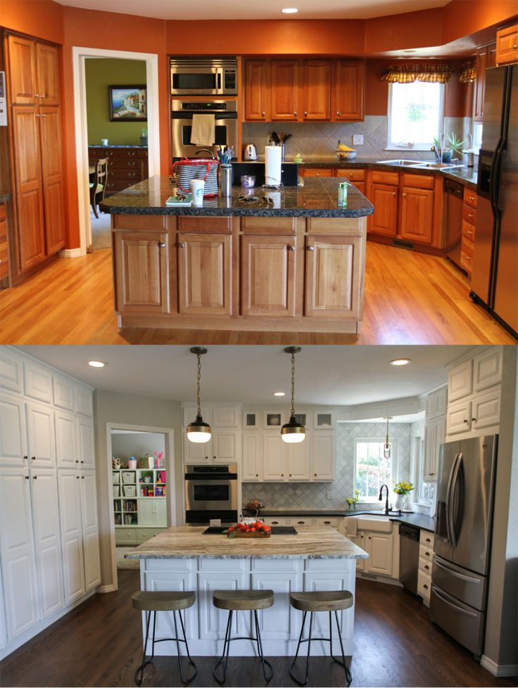 Kitchen Before And After | Suburban Bitches