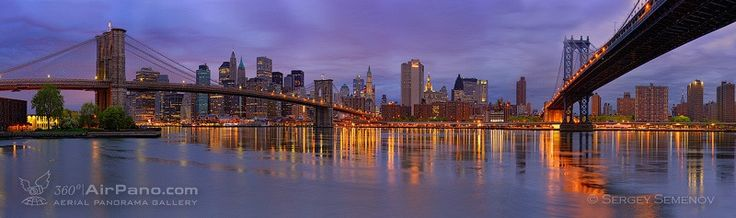 Brookline bridge and Manhattan bridge