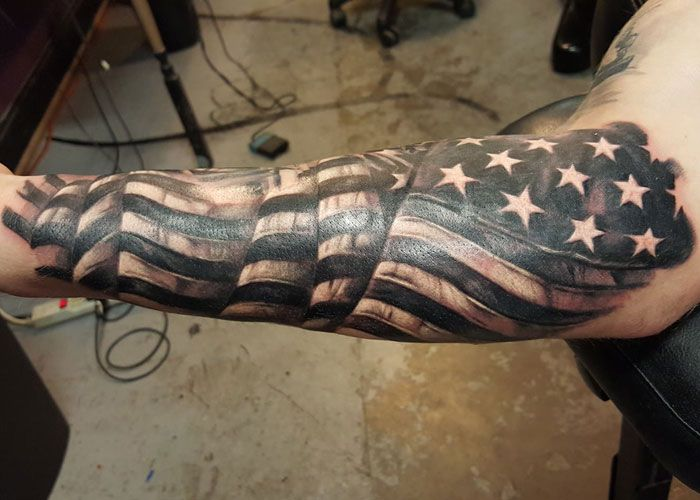 101 Best American Flag Tattoos Patriotic Design Ideas 2020 Guide Flag Tattoo American Flag Sleeve Tattoo American Flag Tattoo