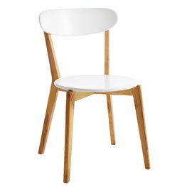 Krzesło JEGIND drewno/białe