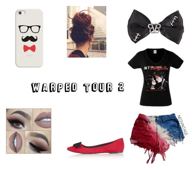 """Warped Tour #2"" by willowokimaw on Polyvore featuring Casetify and Topshop"