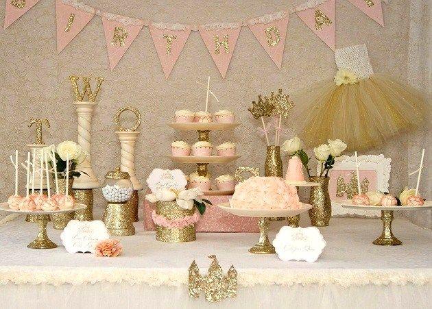 Una preciosa mesa de fantasía / A lovely fantasy sweet table