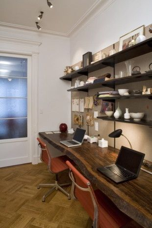 Home Office and Work Space Ideas & Inspiration [ Specialtydoors.com ] #office #hardware #slidingdoor
