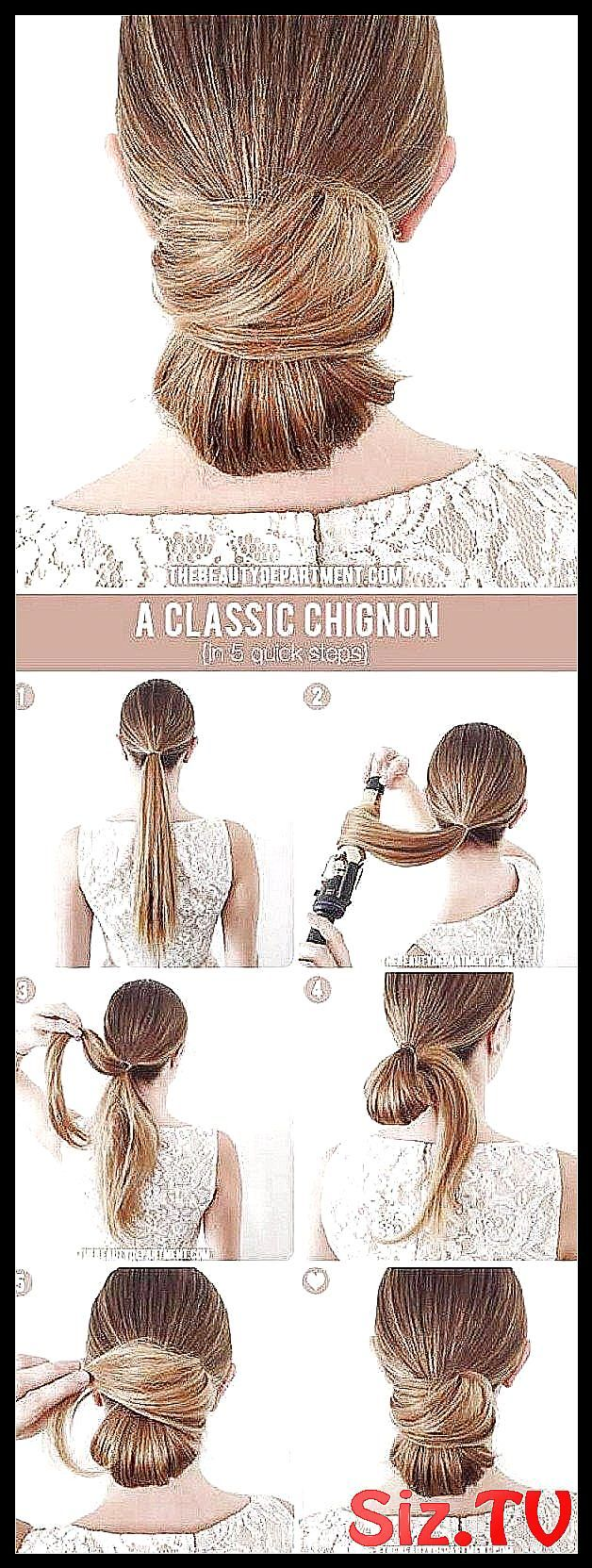 Best Hairstyles for Brides    Classic Chignon    A #Amazing #Awesome #Braided #Bridal #Brides