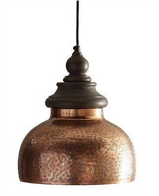 Antique Copper Hard Wire Pendant Light By Split P Hanging Lighting