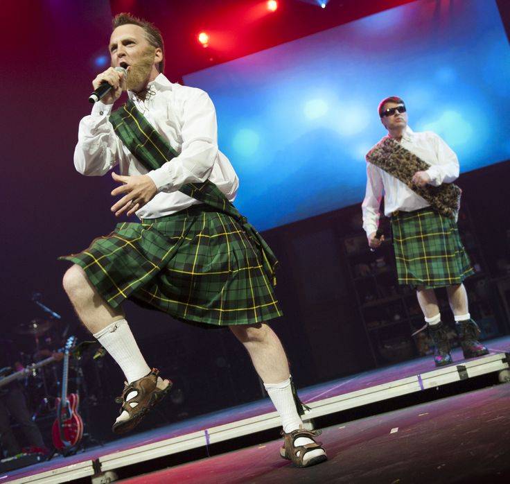 MC Haggis and Shamis McFamous...the best Scottish rappers at OC13.