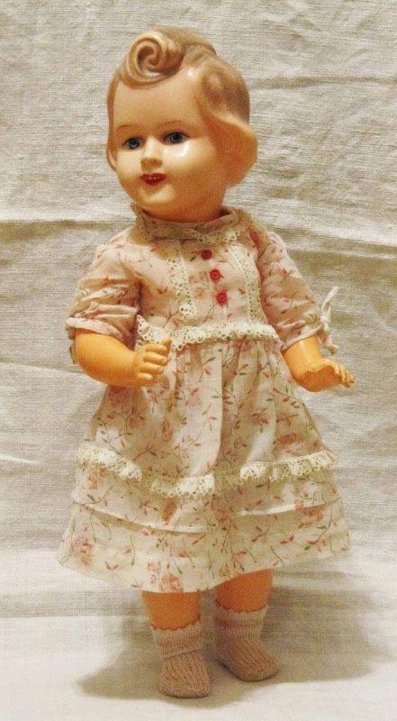 Редкая антикварная кукла из хард пластика Адама Шраера / Антикварные куклы, реплики / Шопик. Продать купить куклу / Бэйбики. Куклы фото. Одежда для кукол