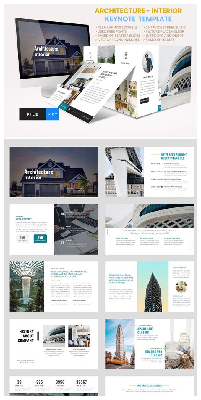 Architecture Interior Keynote Interior Presentation Architecture Company Profile Design