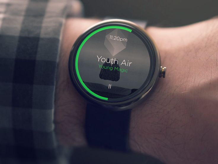 Moto 360: Music Player / Eduardo Higareda