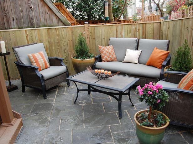 I like the stone patio.
